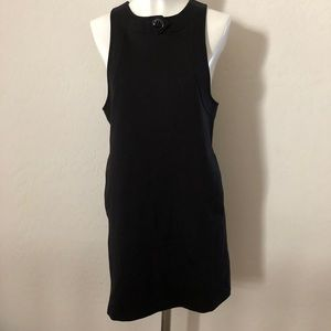 Robert Rodriguez black dress with pockets L231